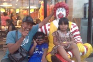 Bali Tour Guide kids