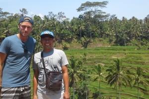 Bali Tour Guide rice terraces