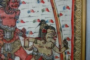Bali art picture