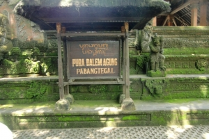 Bali old temple