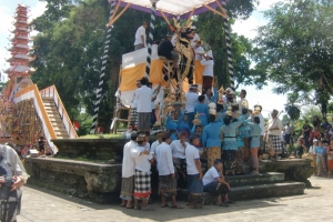 Bali traditional funeral
