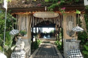 Bali restaurant good view