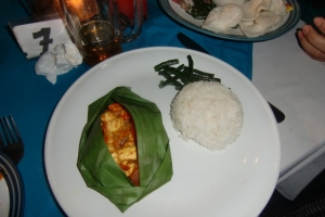 Bali meal