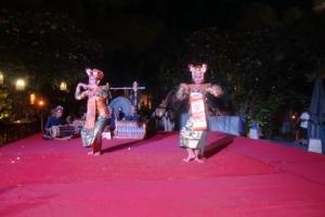 Bali moon dance traditional