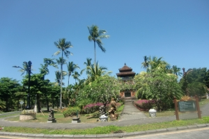 Bali traditional temple small