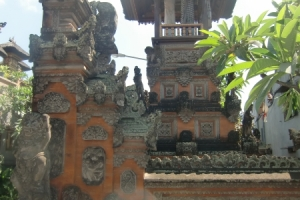 Bali traditional temple