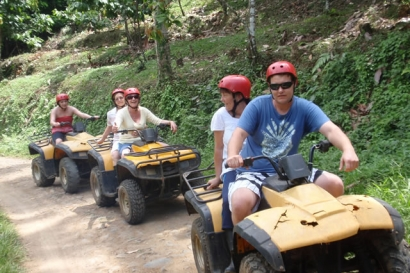 ATV ride Bali Tour