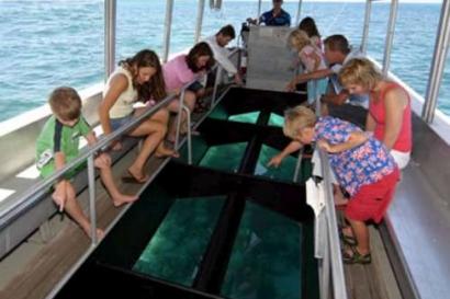 Bali Glass Boat Tour Trip