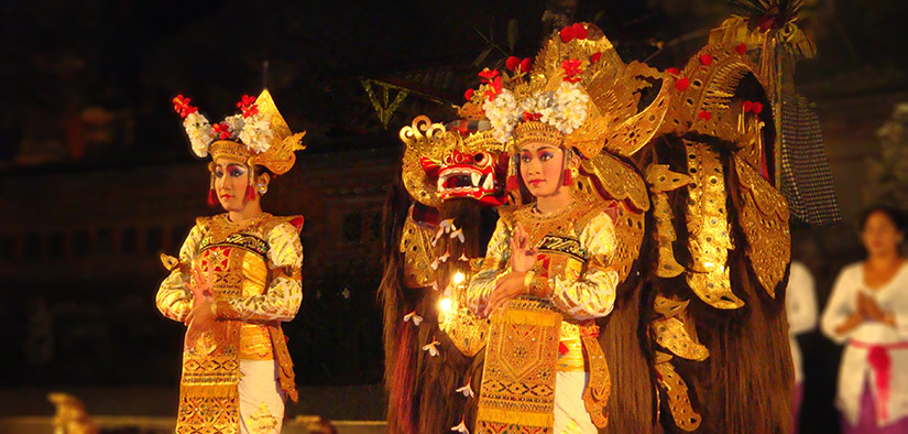 traditional dancers bali
